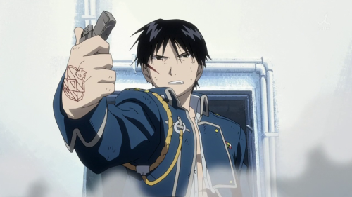 the episode in which Roy Mustang is sick of the government not taking the current state of cuisine seriously, and barges into Congress demanding that it is unconstitutional for them not to be helping the American people learn all they can about pizza
