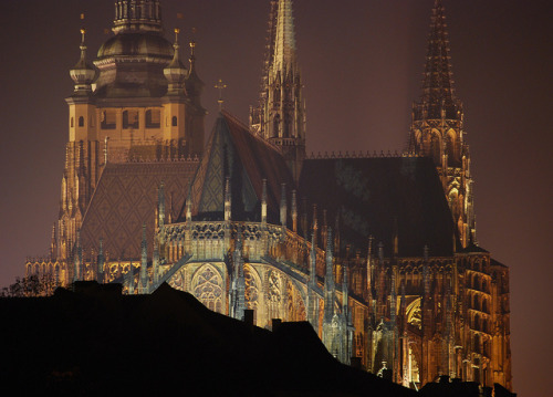 St. Vitus Cathedral, Prague  November 13, 2011 By: vasekk