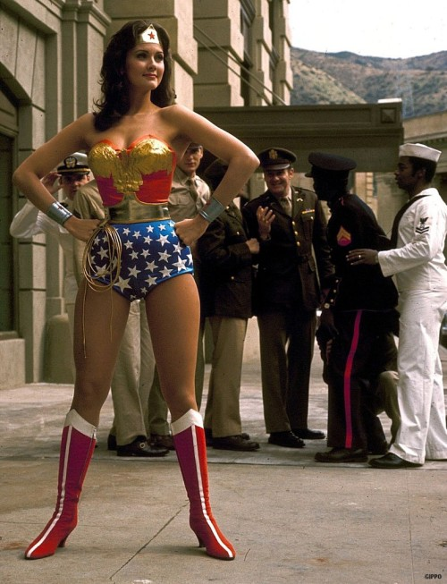 shouganaiyo:   Lynda Carter as Wonder Woman