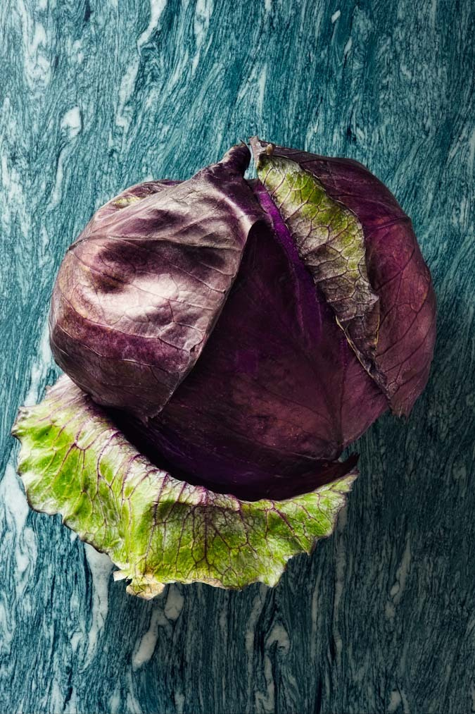 Hard Rock Vegetables - Red Cabbage