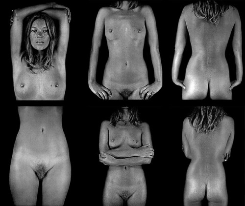 Chuck Close, Kate Moss Series, 2003 Part of the photographic series using the daguerreotype method. You can read more about it in my last post.