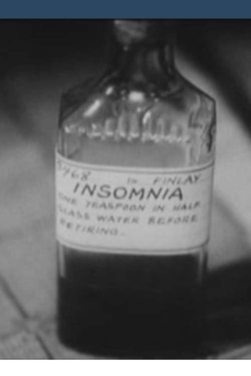 Insomnia in a bottle, if I knew it were that easy I'd have taken that then years of naturally building my tolerance to sleep. Thanks Fabi