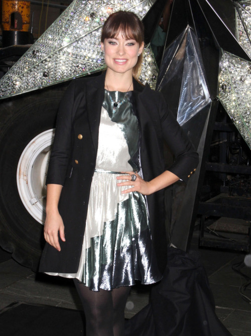 Olivia Wilde at the Unveiling of the Swarovski Star in New York City - November 16 2011