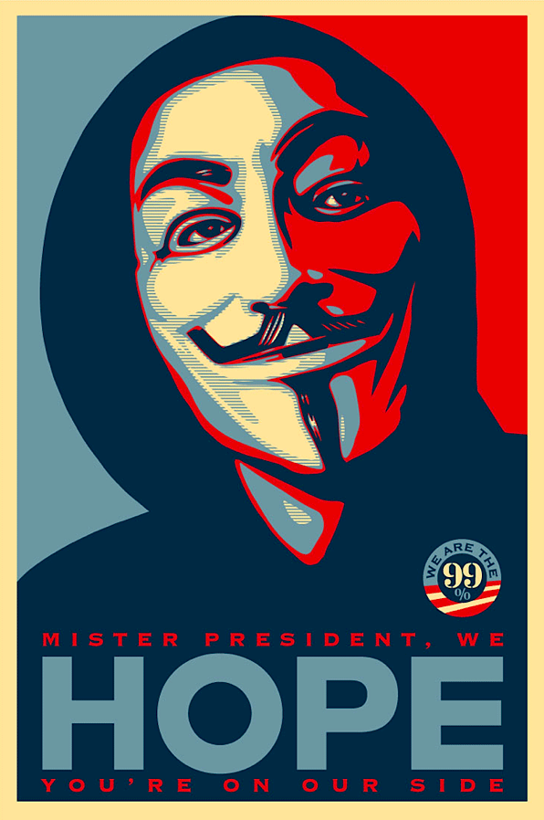 Shepard Fairey, Occupy Hope