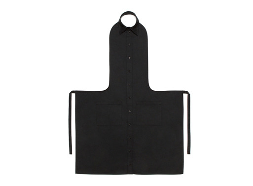 "FORMAL ATTIRE ""These aprons are one of those things that are both wonderful and extremely silly looking, at least at first. They're designed in the style of a formal/business suit, perfect for those of us ""who consider cooking a serious business as much as an affair of art."""" - Katie, Better Living Through Design via Aiste Nesterovaite via BLTD"