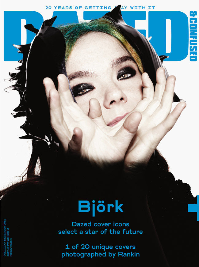 Bjork - Dazed & Confused by Rankin, December 2011