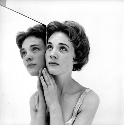 theniftyfifties:  Julie Andrews by Cecil Beaton