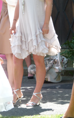 A dress I wore to a wedding. derp.