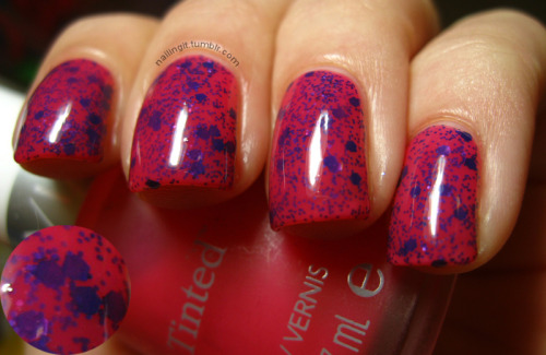 "revlon - victorianla girls glitter addict - eutopia another jelly sandwich! okay, i hate ""barbie pink"" most of the time but this combo is HOT."