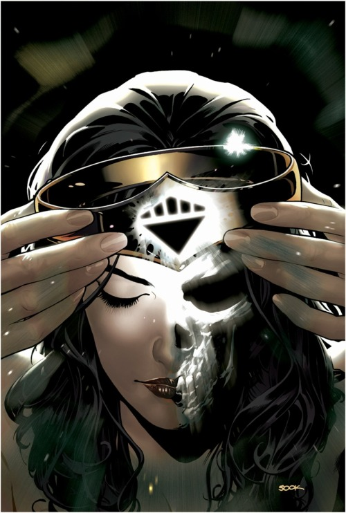 Blackest Night: Wonder Woman #2 (Variant Cover) // Ryan Sook