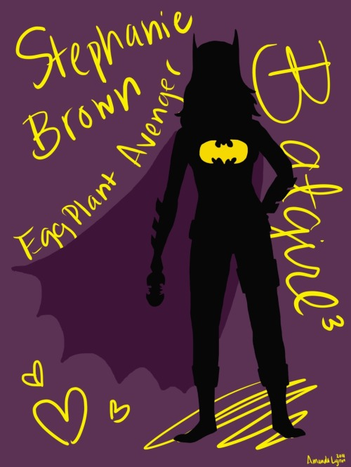 Stephanie Brown's Shadow by mandalyn13