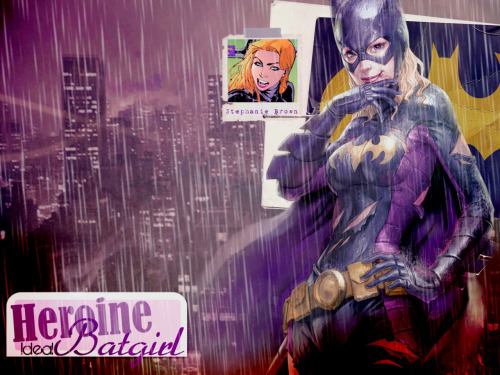 Batgirl-Stephanie-Brown by AriesYami