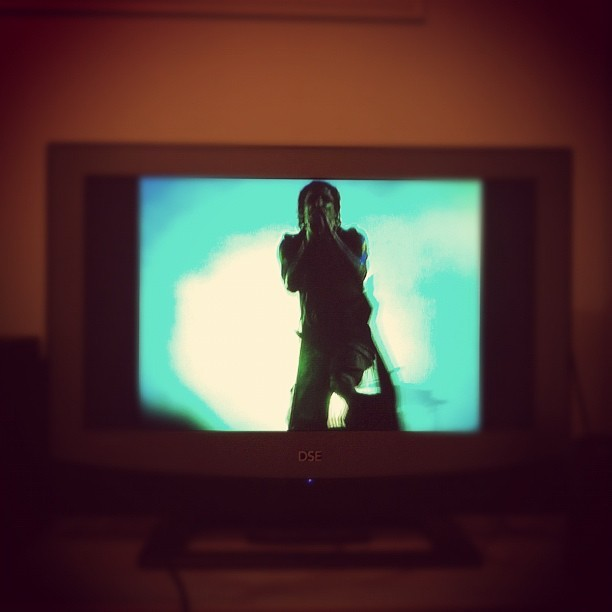 Now you know this is what it feels like. #nineinchnails (Taken with instagram)