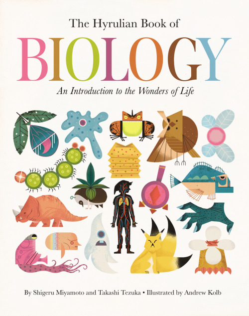 laughingsquid:  The Hyrulian Book of Biology by Andrew Kolb
