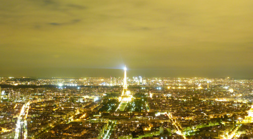 Taken from the top of the Montparnasse on an October evening during a little city break to Paris (Disneyland). Lame camera, incredible view. We spent a few days in the beautiful city which I hadn't been to since I was 11. Fair to say I fell in love with it all over again