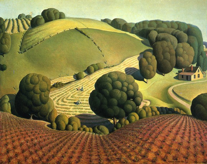 Young Corn, 1931Grant Wood