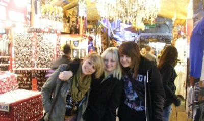 Me, Lucy and Emily in Camden.  Just before A Day To Remember.