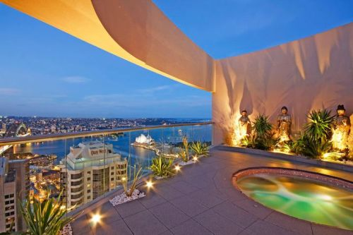 Sydney penthouse apartment