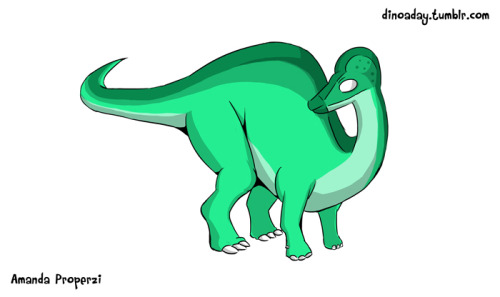 "Corythosaurus (""Helmet Lizard"") Lived: The late Cretaceous period. Size: 10 metres and 4 tonnes. About: The crest on the top of the Corythosaurus' head contains a long nasal passage. This probably allowed them to communicate with each other using low-pitched cries to indicate predators and food."