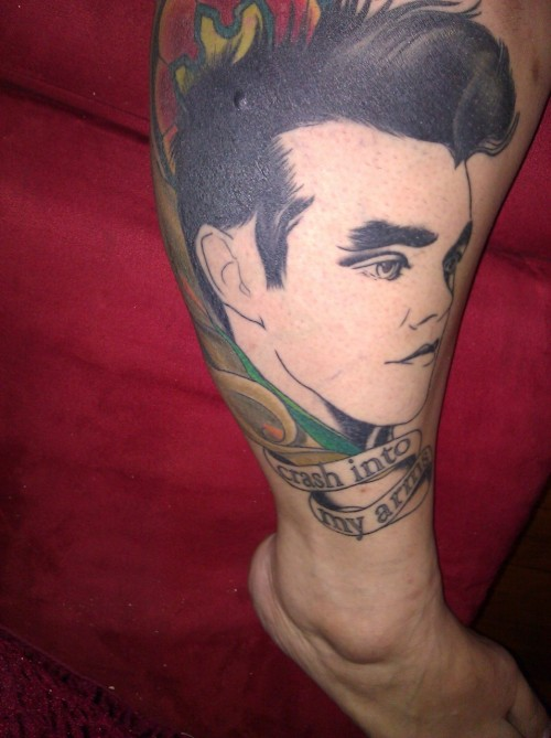 Morrissey before he was finished.