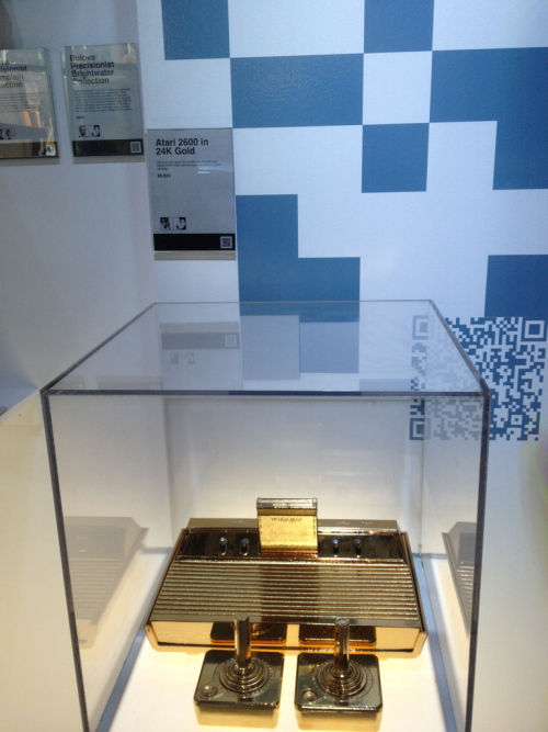 A 24k gold Atari 2600 it can be yours for $6,650