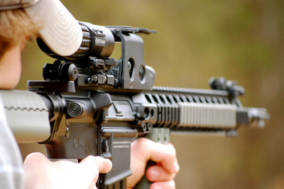 p0litical:  AR15 by ThomasWoodson.com on Flickr.