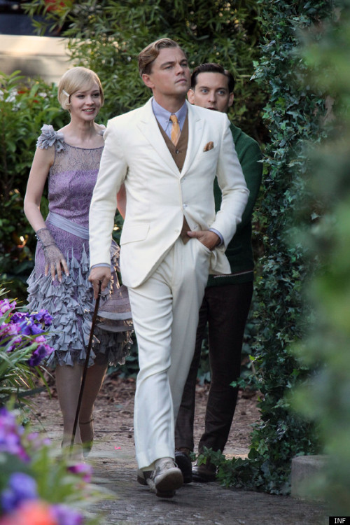 Perfectly debonair; the Great Gatsby remake is looking great… SIR JACK'S: Outfitters to the Modern Gentleman