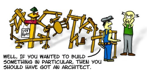 archimess:  Why people still think that they don't need architects??