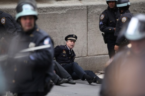 "Retired Philly police Capt. Ray Lewis was arrested during Occupy Wall Street's ""Day of Action.""Empowering."