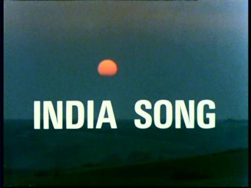 kansassire:  India Song (1975, Marguerite Duras)