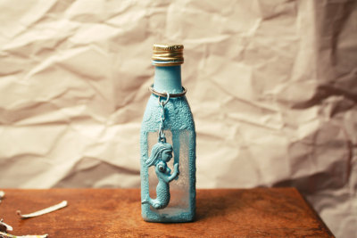 """The Messenger"" Key chain and Bottle by Ryanplz"