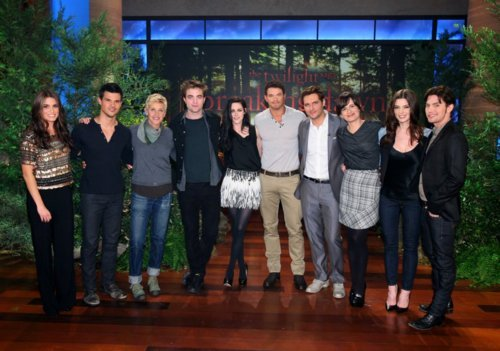 New picture from the Ellen Show