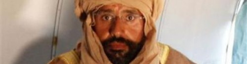 Saif al-Islam Gaddafi captured alive, complete with iconic photo: With perhaps the most iconic photo to come out of a capture since Khalid Sheikh Mohammed, Gaddafi's most notorious son, fearing for his safety, gave himself up without a fight early Saturday. source Follow ShortFormBlog