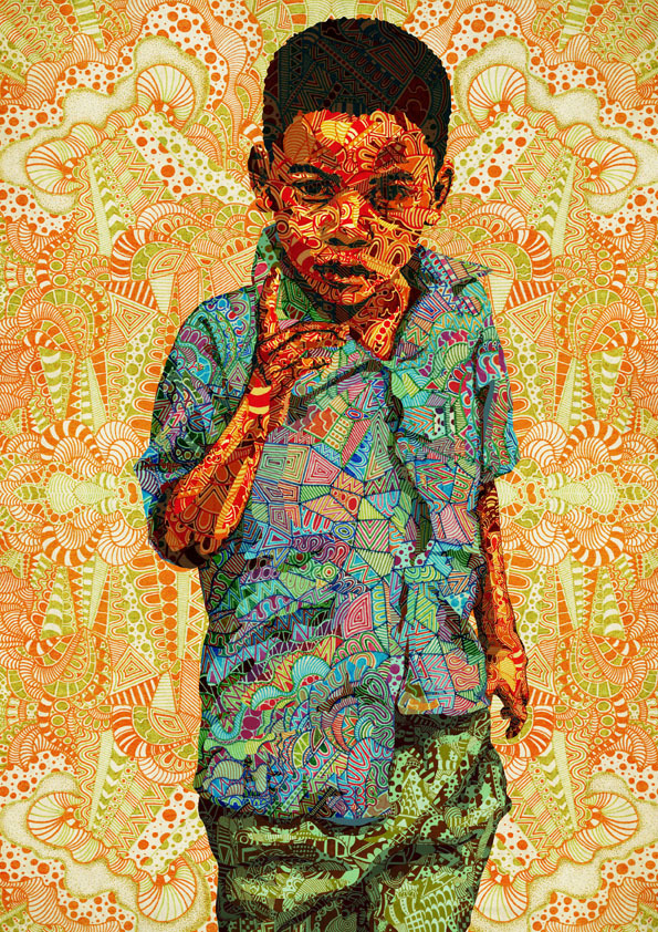 Pattern overload kid… enjoy!