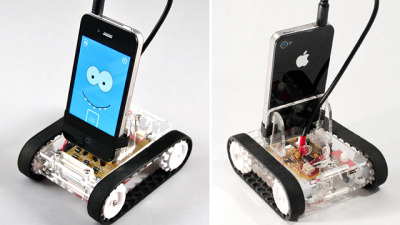 NERD: Romo Smartphone Bot Is as Easy To Build as Plugging In Your Headphones