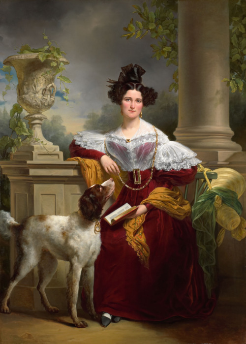Mrs Provo Kluit-Assink by Jan Adam Kruseman, 1830's, Rijksmuseum