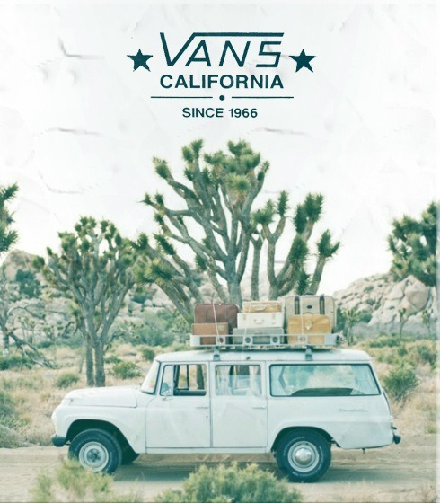 wicked advertisement, big up vans!