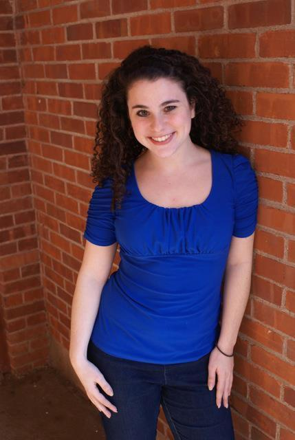 This is my sister, Cassandra. She's studying musical theatre at The Hartt School (part of the University of Hartford), and she's incredibly talented and clearly gorgeous. She has been in professional Shakespeare productions (Beatrice in Much Ado About Nothing) and performed in children's theatre, and has performed all throughout high school in all of the musicals and straight plays. A few weeks ago, she was cast in her first professional film role for an anti-bullying PSA video for teachers. In short, she's the best, and an amazing actress and singer.