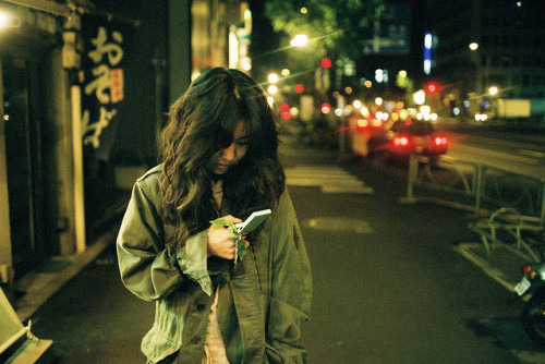 blue phone by jingai on Flickr.