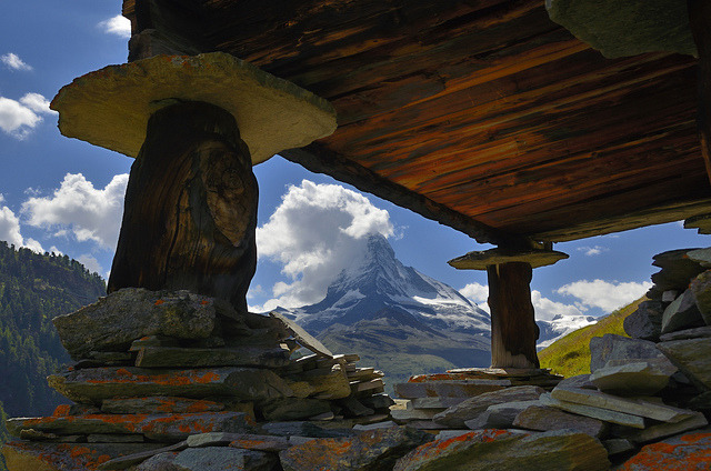 Matterhorn from Findeln by pierre hanquin on Flickr.in need of vacation.