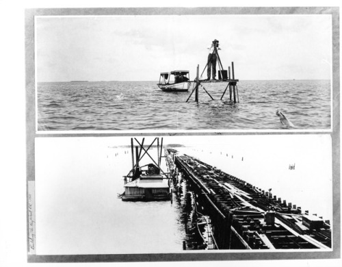 Building the Key West Railroad, 1910. Source: George A. Smathers Libraries