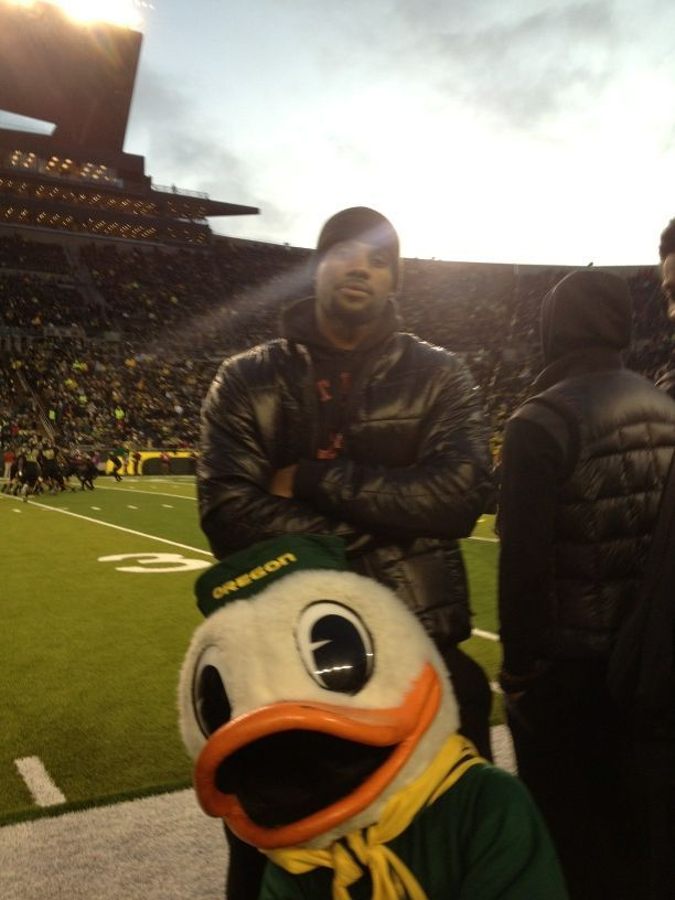 nbaoffseason:  LeBron James and the Oregon Duck.  Via Whitney Blaine & Jose3030