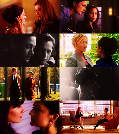 ontheair:  TEN DAYS OF TV | 8 couples you ship | Kalinda Sharma and (almost) everyone