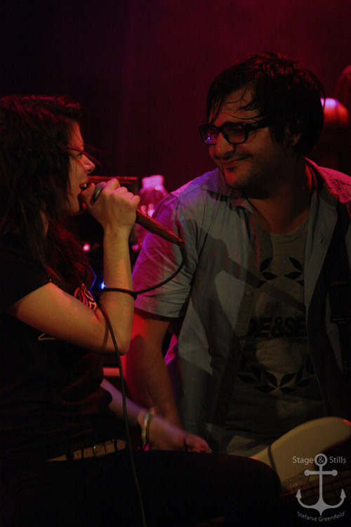 Tay Jardine and Mike Ferri of We Are The In Crowd [House of Blues Anaheim 11/5/11]