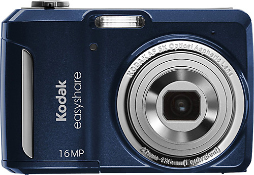 Kodak - EasyShare C1550 16.0-Megapixel Digital Camera - Blue The Christmas gift I asked for. I definitely need a camera for my international trip and etc.