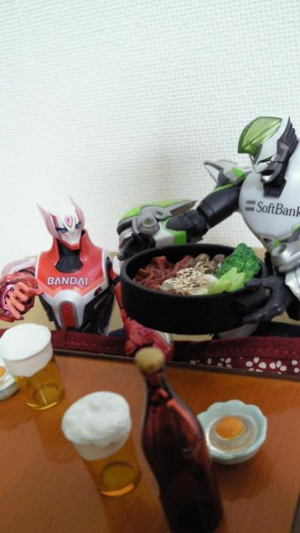Tiger & Bunny cooking again!