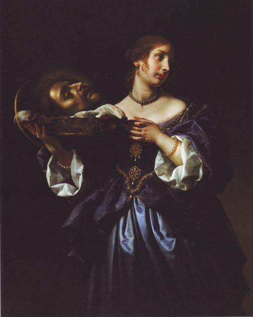 hing-der-teufel:   Carlo Dolci | Salome with the Head of St. John the Baptist | 1670