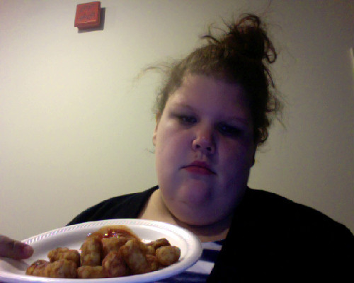 shenanigansnshit:  seriously sitting in my kitchen, with a plate of tater tots, listening to Glee music, on a Saturday night. Oh I get it now, this is the college life they don't tell you about. When your roommates go out and don't bother to ask if you want to tag along & you don't have any other friends yet. Gotcha