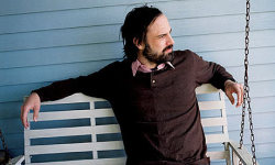 David Berman is an artist, writer, poet, and musician based in Nashville who received his MA in creative writing from the University of Virginia.  He is the singer/ songwriter for The Silver Jews and his book of poetry, Actual Air, was published by Open City Books in 1999.  Portable February, his collection of drawings and observations was published by Drag City in June.