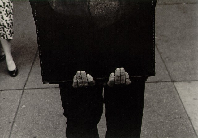 Roy DeCarava   [+] Man with portfolio1959 © Roy DeCarava here